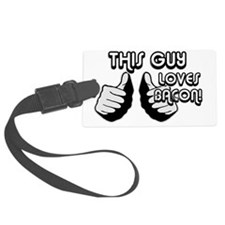 LovesBacon  banner Luggage Tag