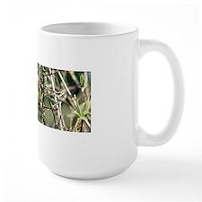 Black Capped Chickadee Centered Mug