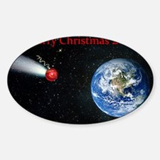 Christmas comet 2012 Decal