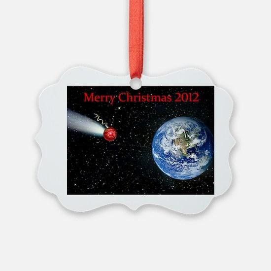 Christmas comet 2012 Ornament