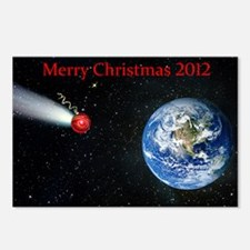 Christmas comet 2012 Postcards (Package of 8)