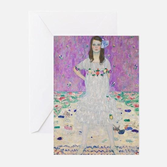Klimt Mada Primavesi Greeting Cards (Pk of 10)