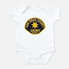 San Diego Sheriff Infant Bodysuit