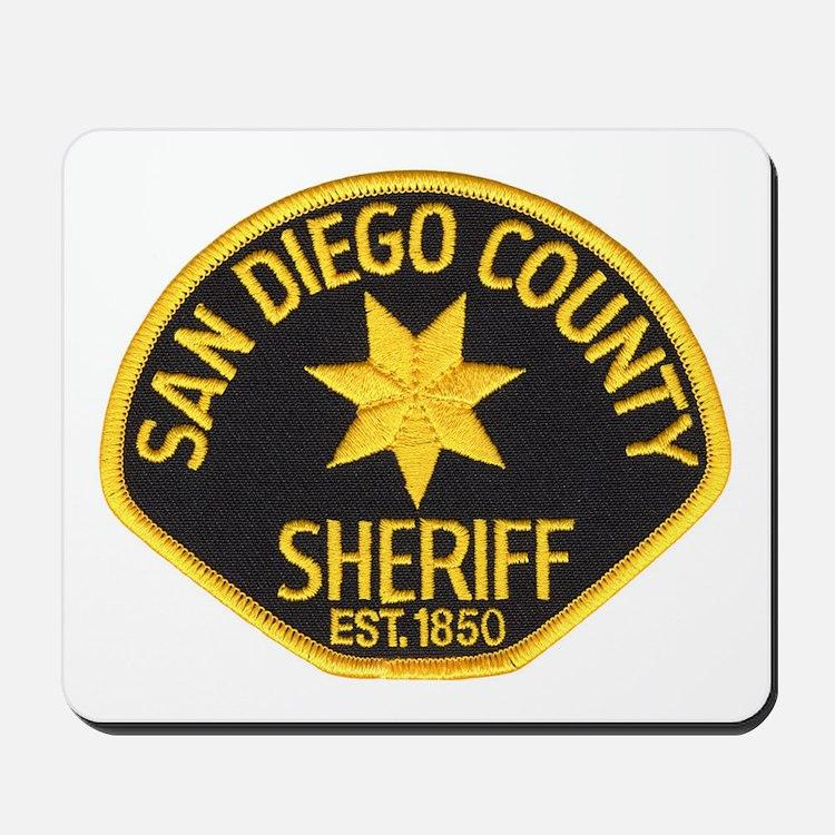 San Diego Sheriff Mousepad