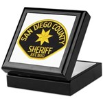 San Diego Sheriff Keepsake Box