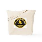 San Diego Sheriff Tote Bag