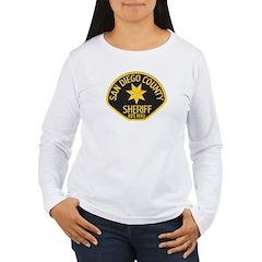 San Diego Sheriff Women's Long Sleeve T-Shirt