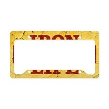 Iron Life License Plate Holder