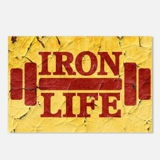 Iron Life Postcards (Package of 8)