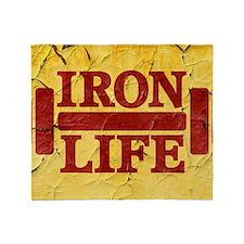 Iron Life Throw Blanket
