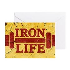 Iron Life Greeting Card