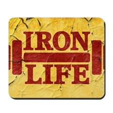 Iron Life Mousepad