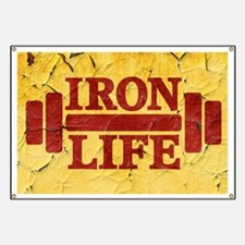 Iron Life Banner