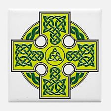 Celtic Cross Symetric V2 Tile Coaster