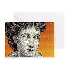 Seductress Greeting Card