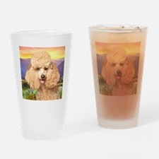 meadow(button) Drinking Glass