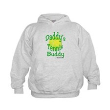 DADDY'S TENNIS BUDDY KIDS HOODIE