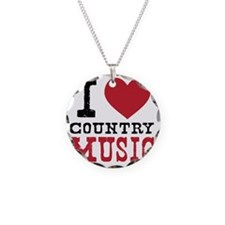Country Music Necklace
