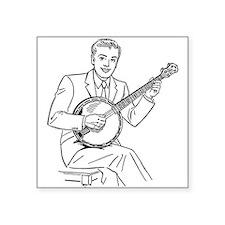 Banjo Player Sticker