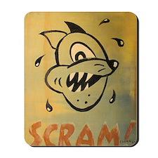Scram! by Elliott Mattice Mousepad