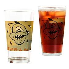 Scram! by Elliott Mattice Drinking Glass
