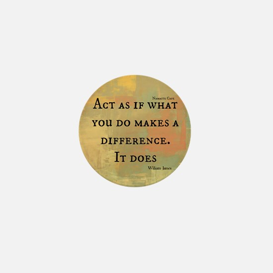 You Make a Difference Mini Button