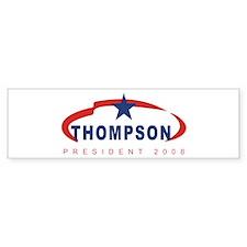 2008 Tommy Thompson (star) Bumper Bumper Sticker