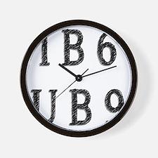IB6UB9 Wall Clock