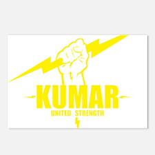 Kumar Lightning 4 Postcards (Package of 8)