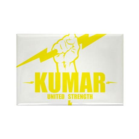 Kumar Lightning 4 Rectangle Magnet