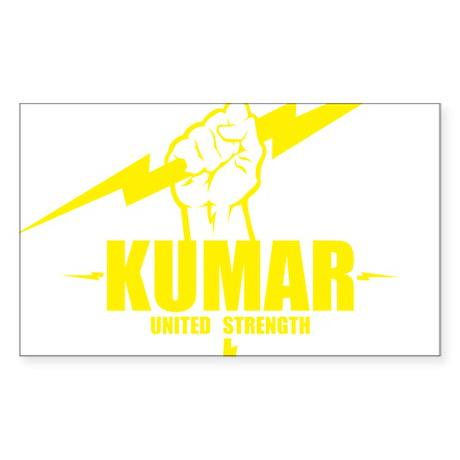 Kumar Lightning 4 Sticker (Rectangle)