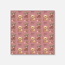 "sh_shower_curtain Square Sticker 3"" x 3"""