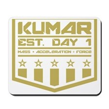 Kumar Military Badge 1 Mousepad