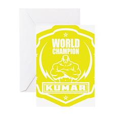 Kumar World Champ 1 Greeting Card