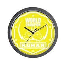 Kumar World Champ 1 Wall Clock