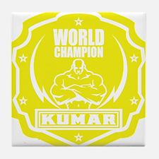 Kumar World Champ 1 Tile Coaster