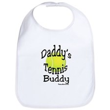 DADDY'S TENNIS BUDDY BIB - BLACK