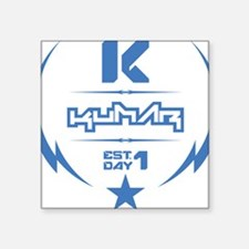 "Kumar Lightning 2 Square Sticker 3"" x 3"""
