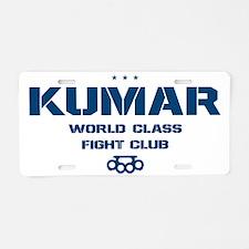 Kumar Bareknuckle 2 Aluminum License Plate
