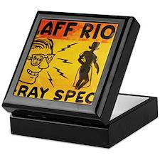 Xray Spex Laff Riot by Elliott Mattic Keepsake Box