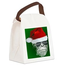 Sasquatch Secret Santa Canvas Lunch Bag