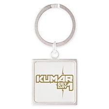 Kumar Lightning 1 Square Keychain
