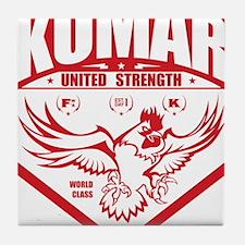 Kumar Fowlcocks 1 Tile Coaster