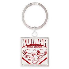 Kumar Fowlcocks 1 Square Keychain
