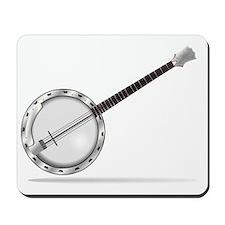 White Banjo Mousepad