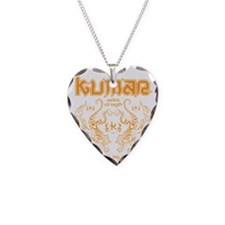 Kumar Tigers 1 Necklace Heart Charm