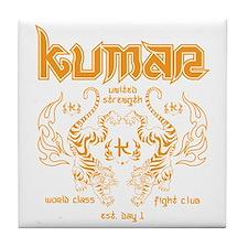 Kumar Tigers 1 Tile Coaster