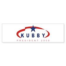 2008 Steve Kubby (star) Bumper Bumper Sticker