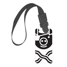 The Bacon Pirate Luggage Tag