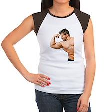 Muscles Women's Cap Sleeve T-Shirt